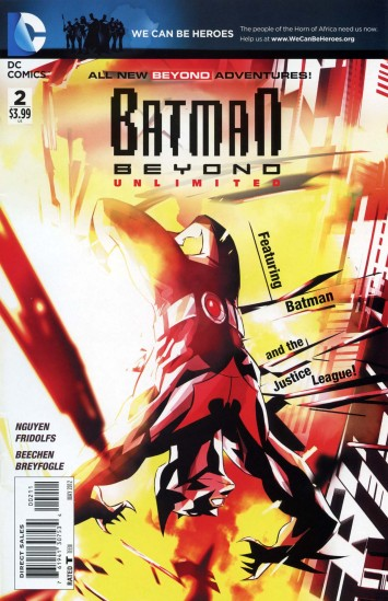 Comic Book Review: Batman Beyond Unlimited #2