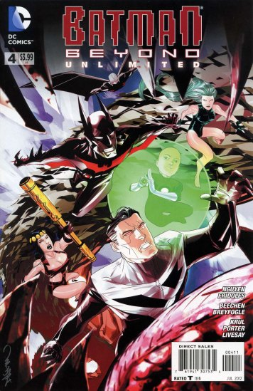 Comic Book Review: Batman Beyond Unlimited #4